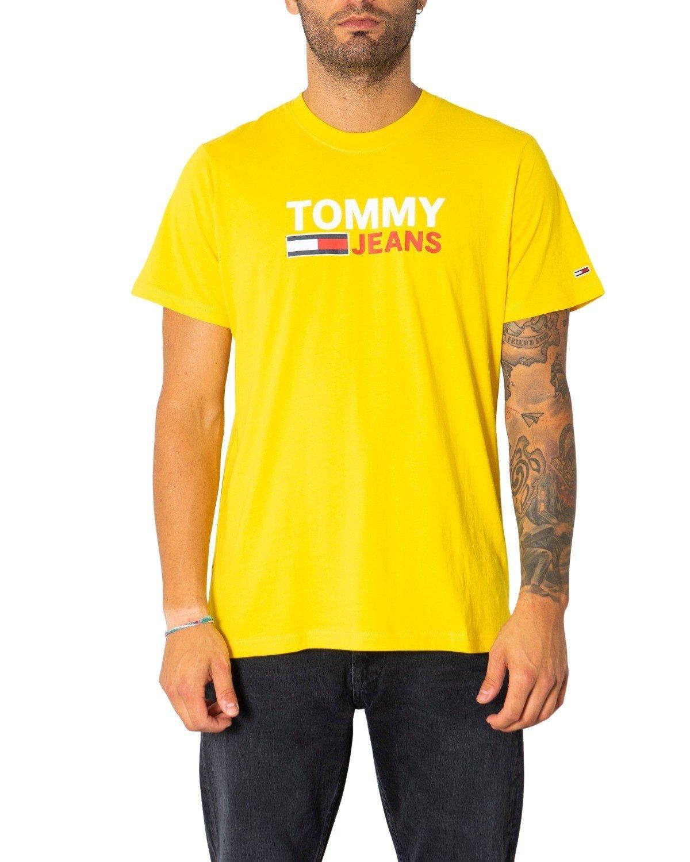 Tommy Hilfiger Jeans Men's T-Shirt Various Colours 304989 - yellow M