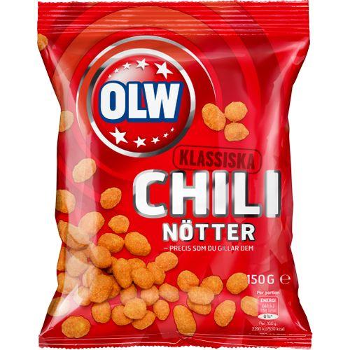 OLW Chilinötter 150g