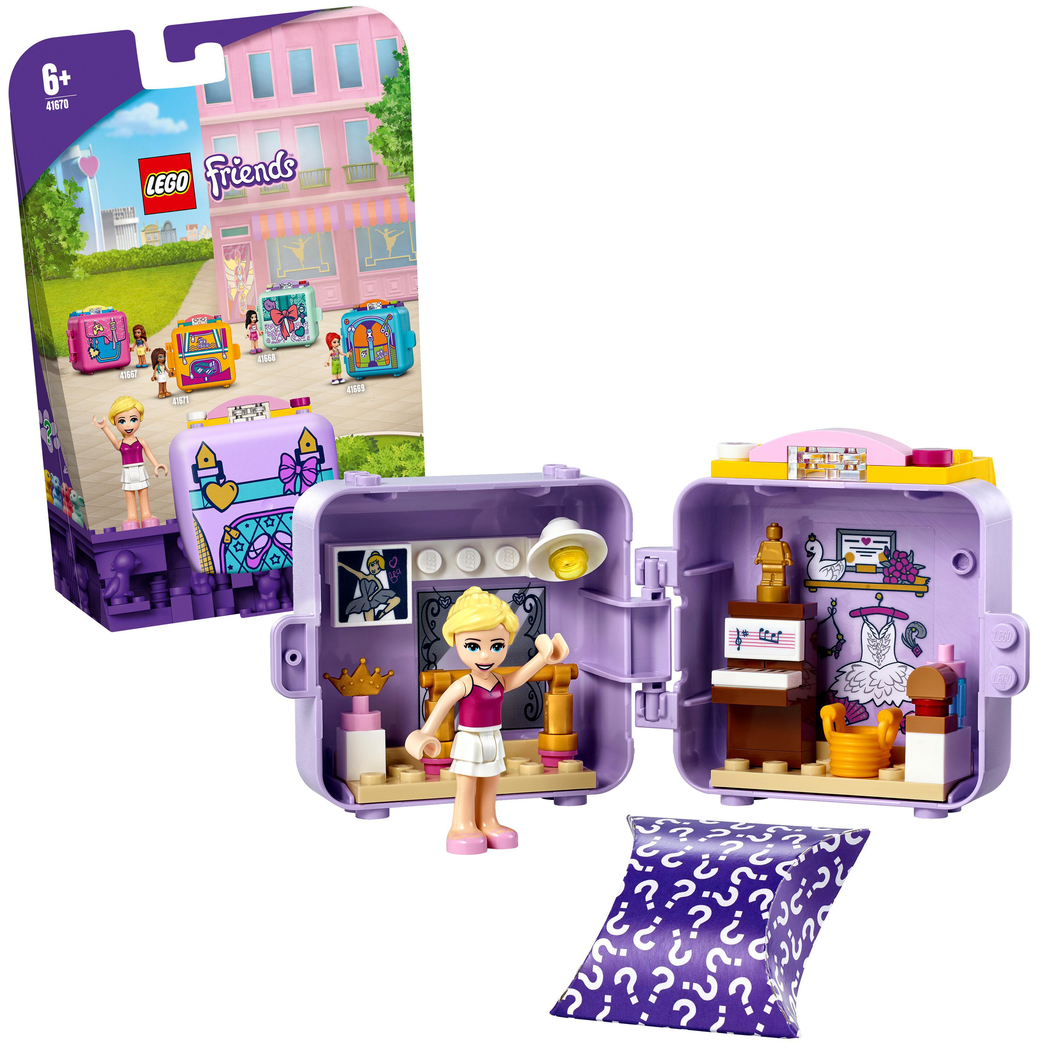 LEGO Friends - Stephanie's Ballet Cube (41670)