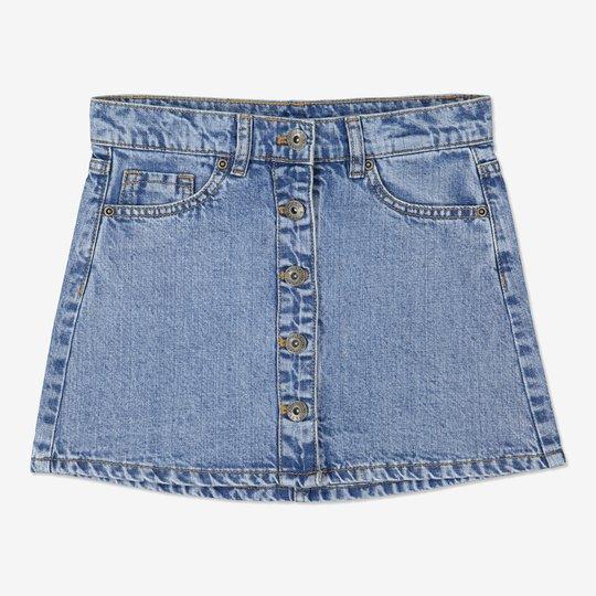 Jeansskjørt lysdenim