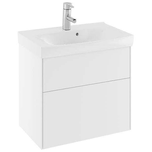 Ifö Sense SUS Compact Allaskaappi 60 cm, 2 laatikkoa, valkoinen