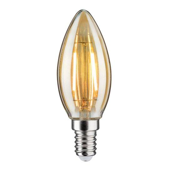 LED-kynttilälamppu E14 2,6W 2 500 K, kulta