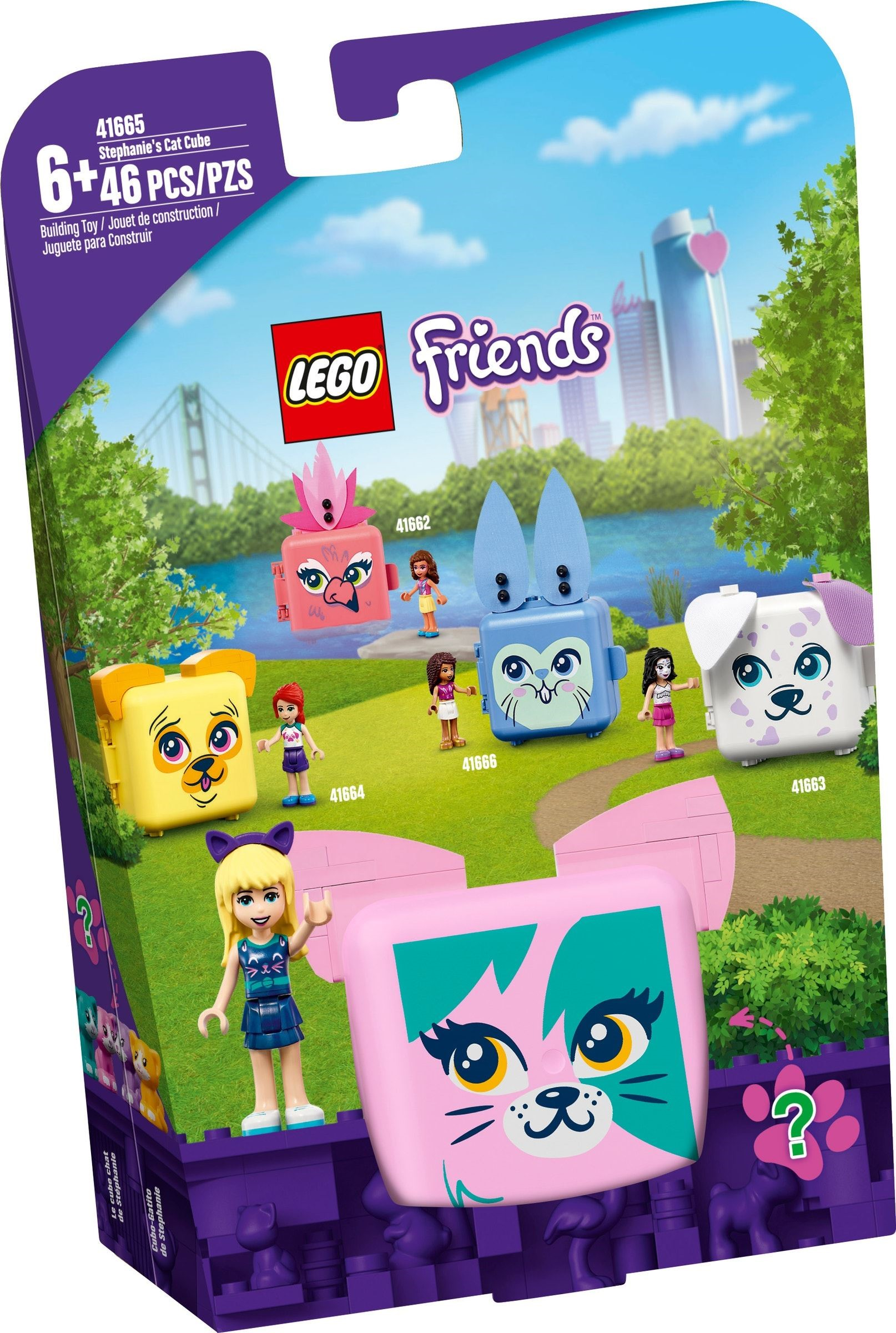 LEGO Friends - Stephanie's Cat Cube (41665)