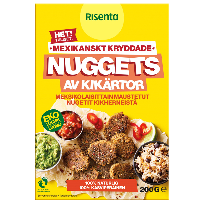 Eko Nuggets Kikärtor Het 200g - 40% rabatt