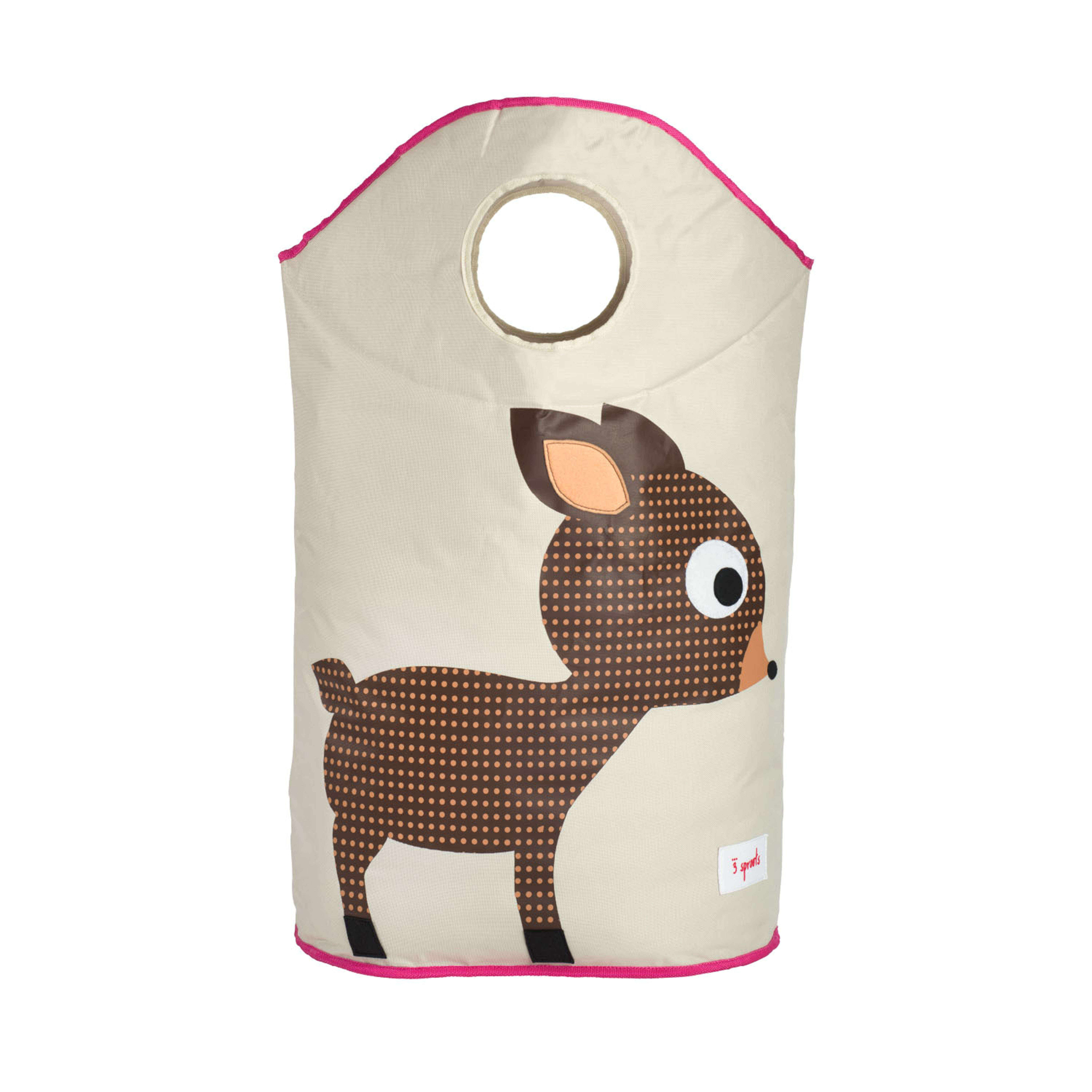 3 Sprouts - Laundry Hamper - Brown Deer