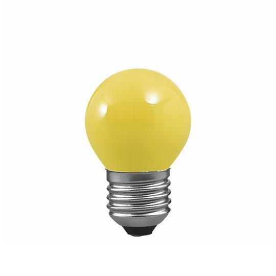 E27 25W pisaralamppu keltainen, valoketjuun