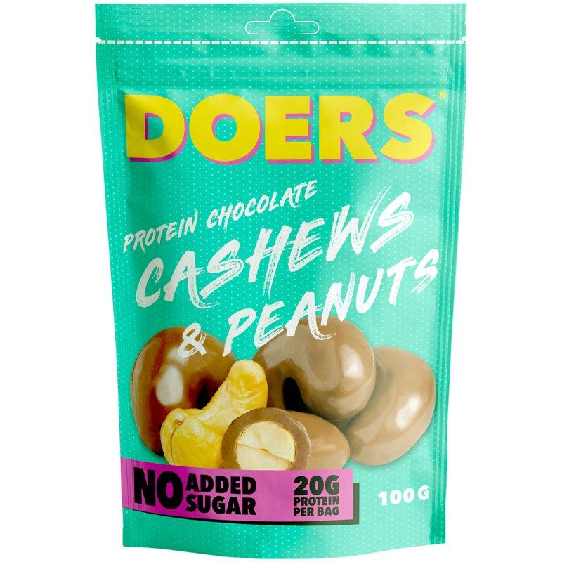 Proteiinisuklaa Cashewpähkinät & Maapähkinät - 32% alennus