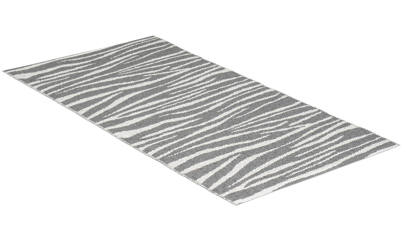 Zebra grå - plastteppe