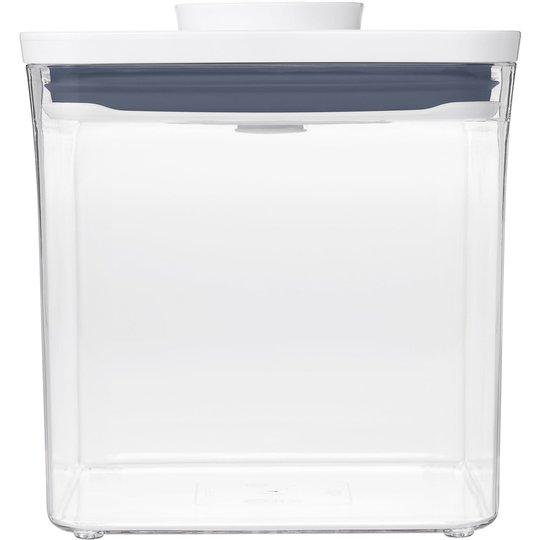 OXO POP Fyrkantig behållare, 2,6 liter