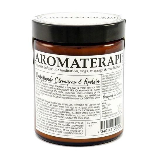 Klinta Doftljus Aromaterapi - Citrongräs & Apelsin