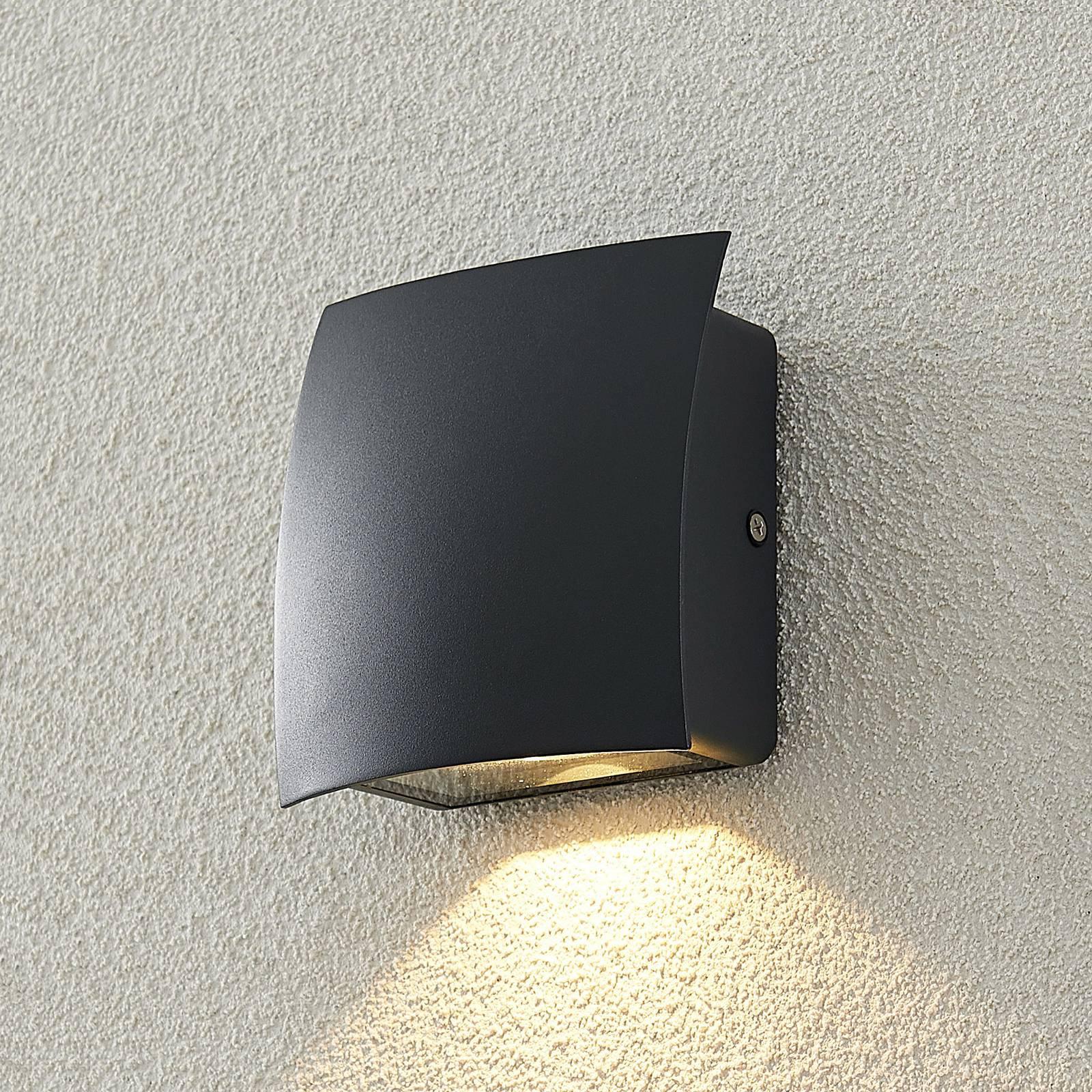 ELC Mircalio utendørs LED-vegglampe