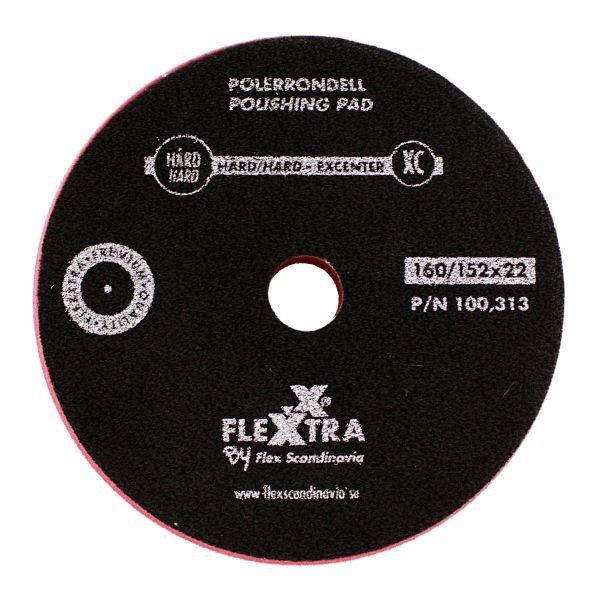 Polerrondell XC hård 160mm
