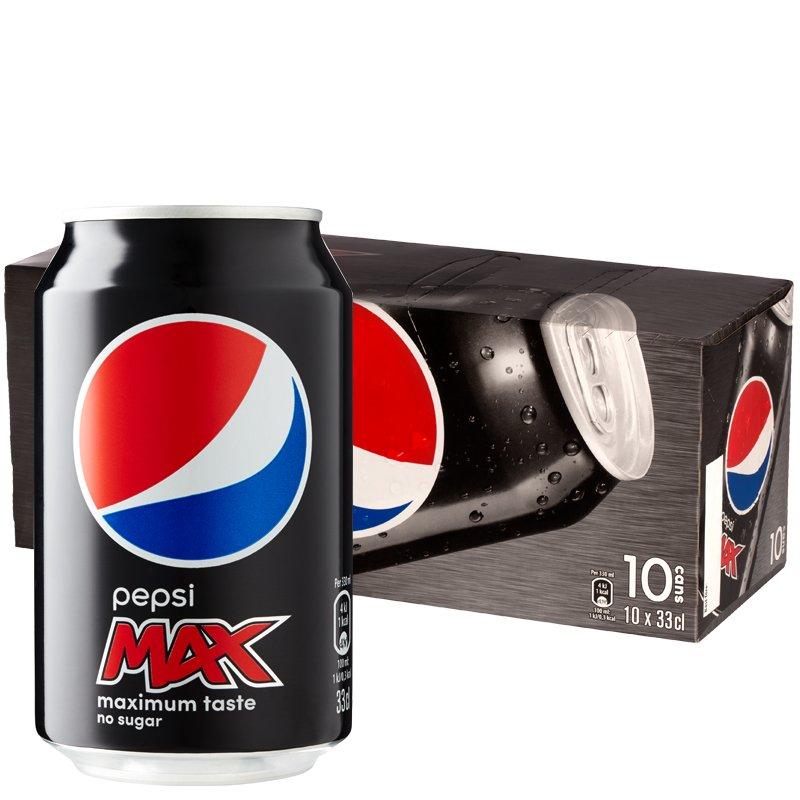 Pepsi max 10-pack - 25% rabatt