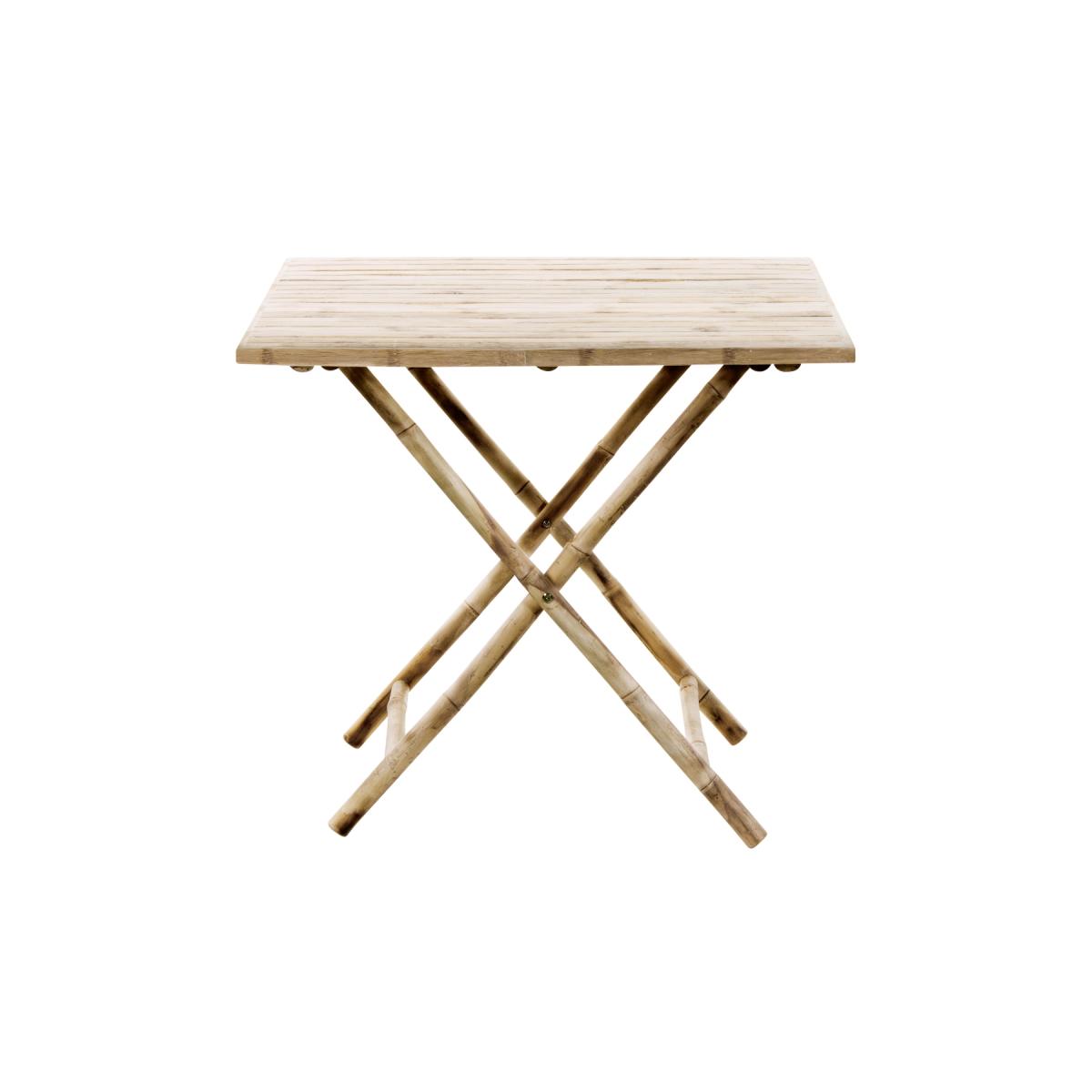 Tine K Bambu Fällbart Matbord 80 x 80 cm