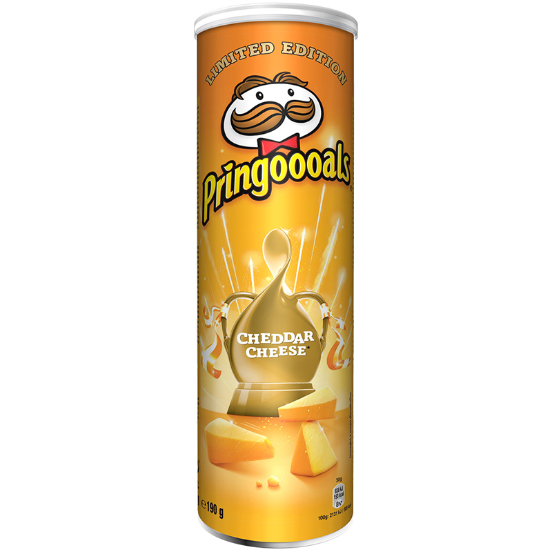 "Chips ""Cheddar Cheese"" 190g - 22% rabatt"