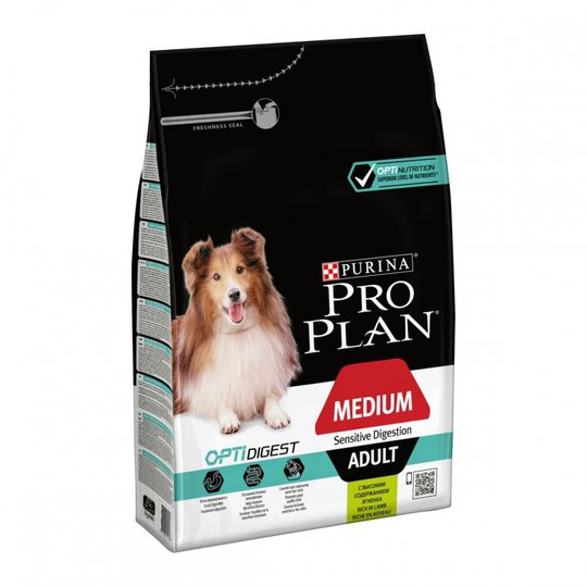 Purina Pro Plan® OptiDigest® Adult Medium Sensitive Digestion Lamb (3 kg)