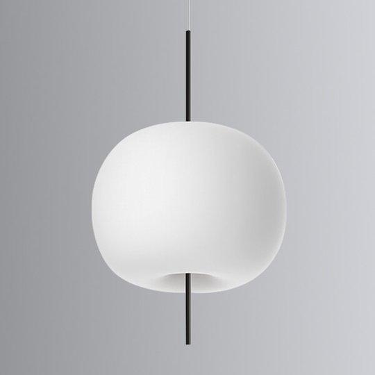 Kundalini Kushi - LED-riippuvalo musta 33 cm