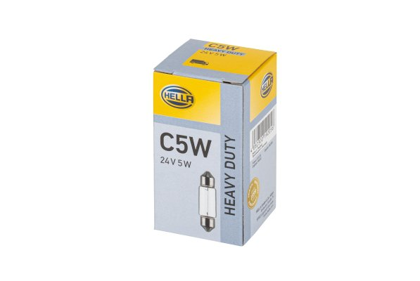 Glödlampa 24V C5W SV8,5