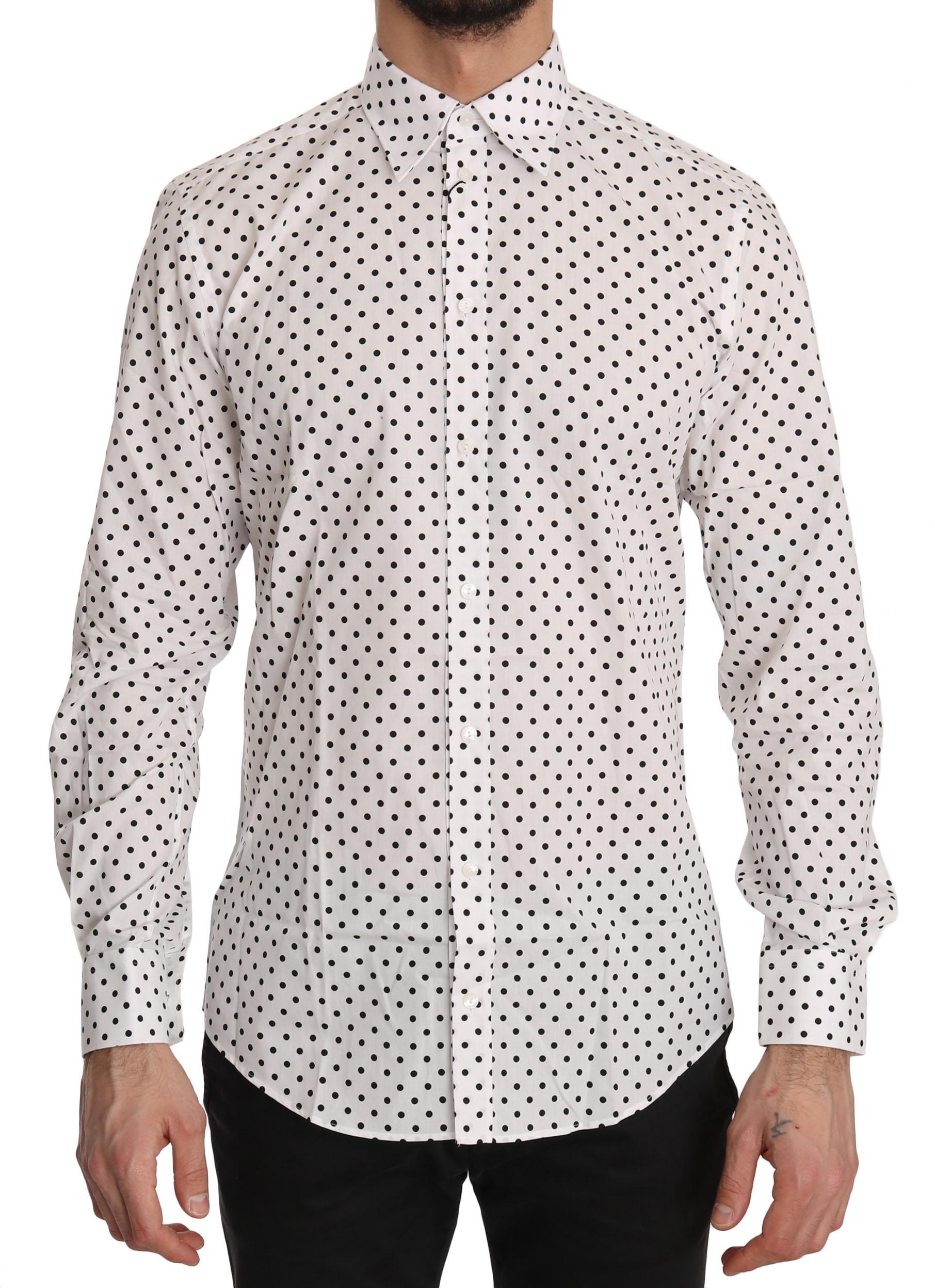 Dolce & Gabbana Men's Shirt Multicolor TSH3630 - IT37 | XS
