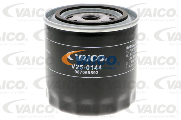 Öljynsuodatin VAICO V25-0144