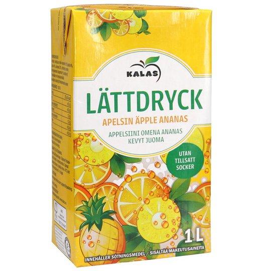 Lättdryck Apelsin & Ananas - 15% rabatt