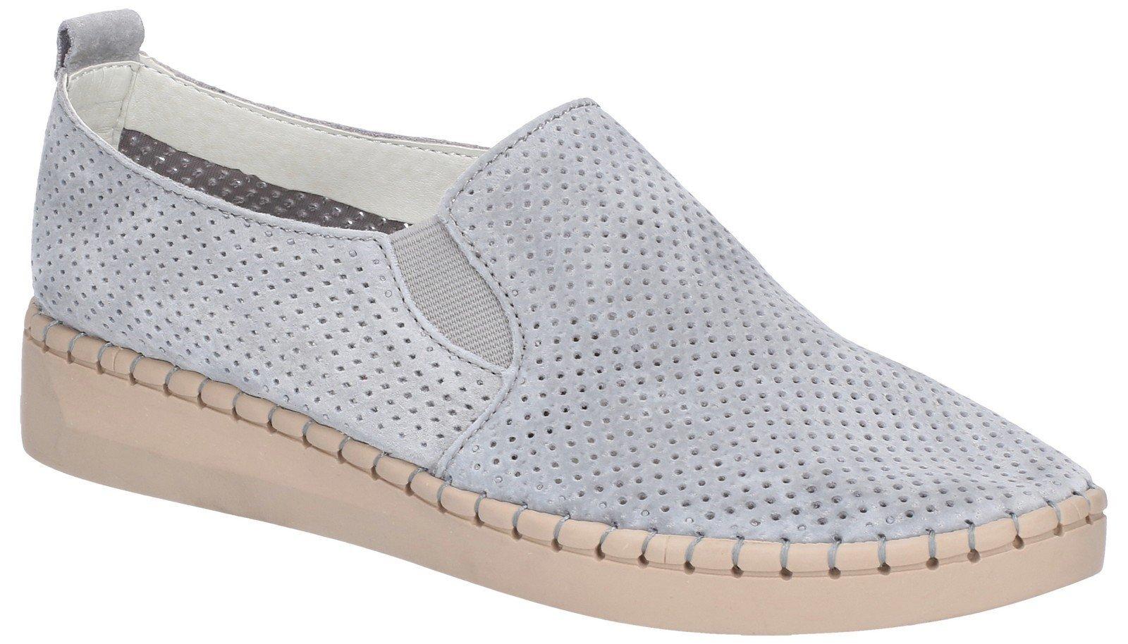 Fleet & Foster Women's Tulip Slip On Shoe Blue 28262-47470 - Grey 3