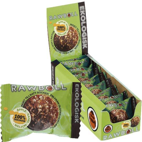 Eko Hel Låda Rawboll Äpple, Kanel & Nötter 8 x 22g - 85% rabatt
