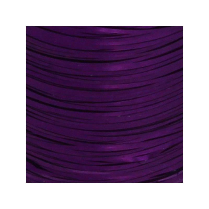 Flat Tinsel - Purple Textreme