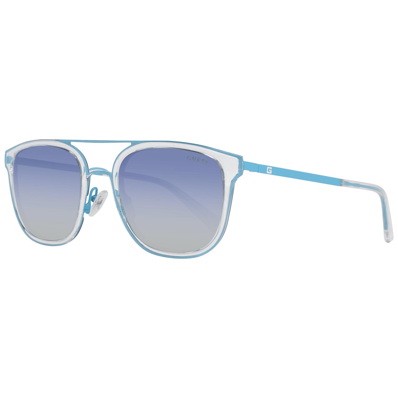 Guess Men's Sunglasses Blue GU6981 5490W