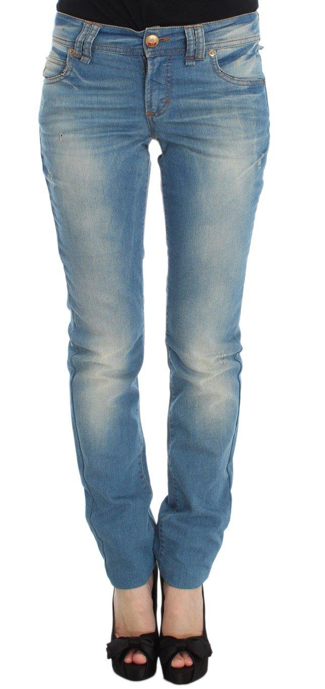 John Galliano Women's Cotton Blend Slim Fit Jeans Blue SIG30159 - W29