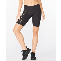 2Xu Light Speed Mid-Rise Compression Shorts Women