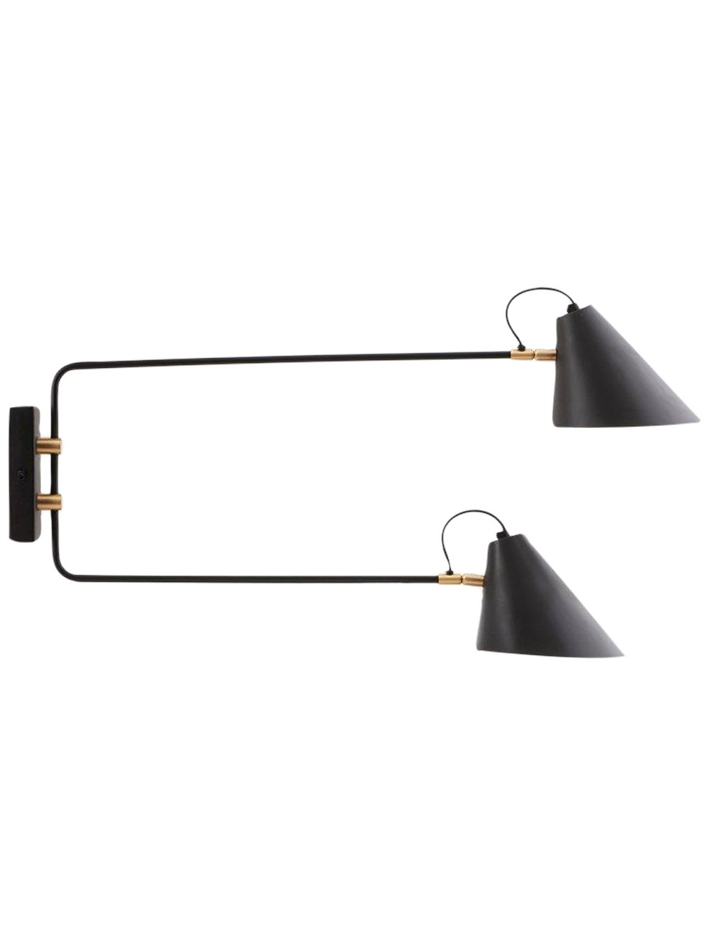 House Doctor - Club Double Wall Lamp (Cl0801)