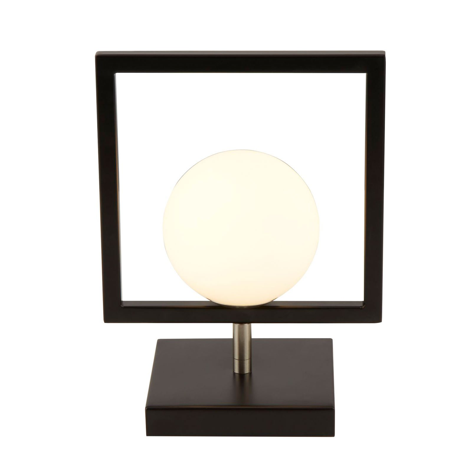 Bordlampe Rosewell med glassball
