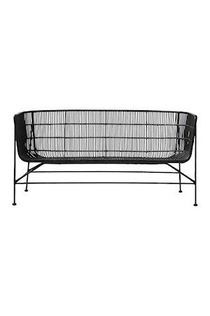 Sofa Coon 140x70x65,5 cm - Svart
