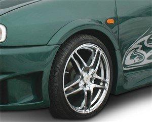 Hjulhuskant, framaxel vänster