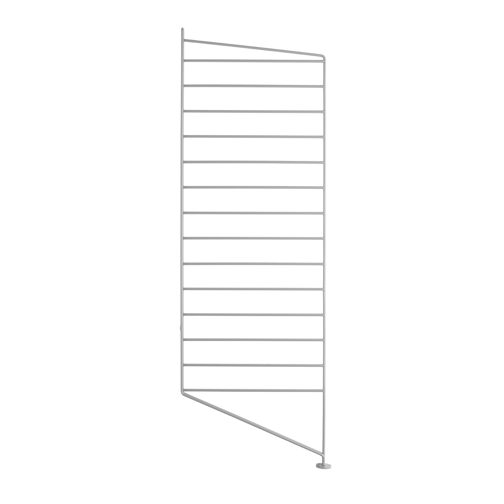 String Golvgavel 85x30 1-p grå