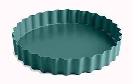 Paiform riflet løs bunn Atlantic Green Ø 25 cm h.4 cm