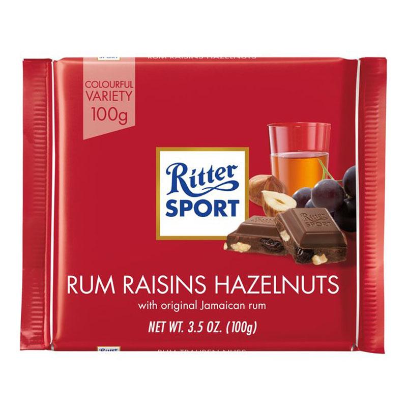 Suklaakakku, Rommi, Rusina & Pähkinä 100g - 23% alennus