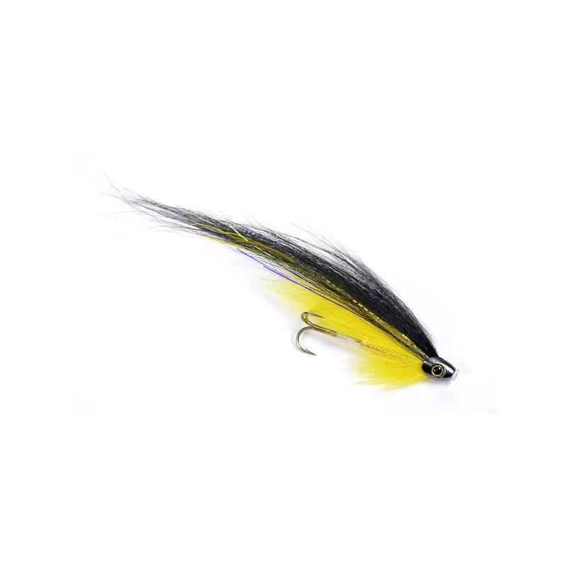 ScullRay - Black & Yellow 6cm Kjøp 12 fluer få gratis flueboks