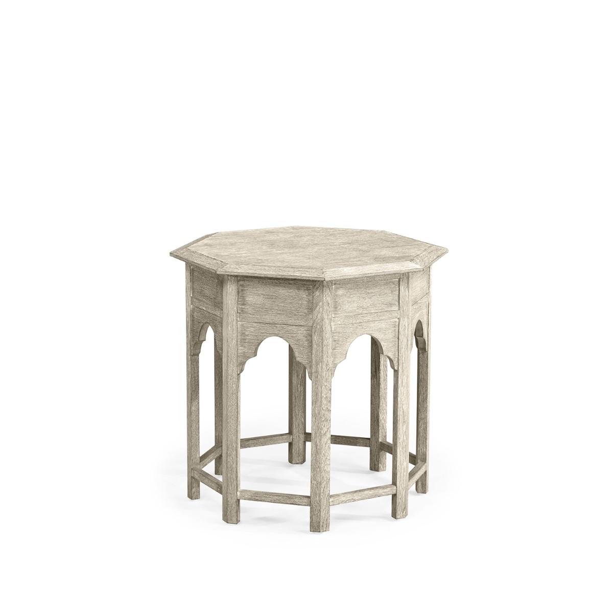 William Yeoward   Tanjina Side Table Venetian White Oak