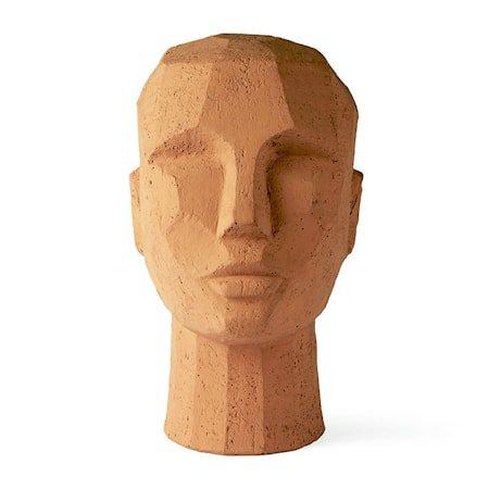 Abstract Hodeskulpturhead Terracotta