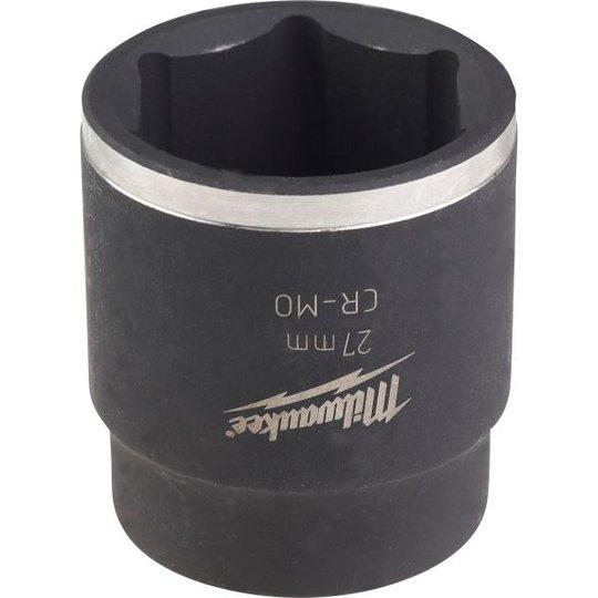 """Milwaukee Shockwave Impact Duty Voimahylsy 1/2"""" kiinnitys, lyhyt 27 mm"""