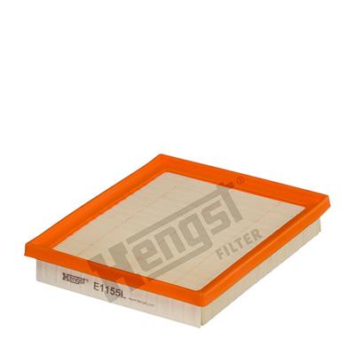 Ilmansuodatin HENGST FILTER E1155L