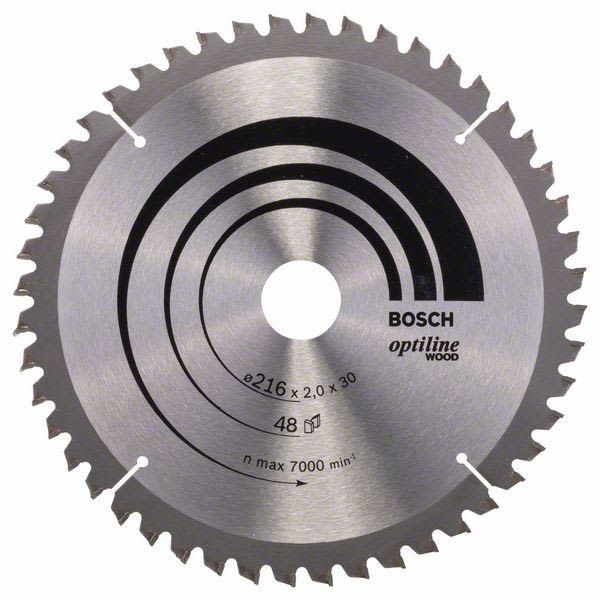 Bosch 2608640433 Optiline Wood Sagklinge 60T