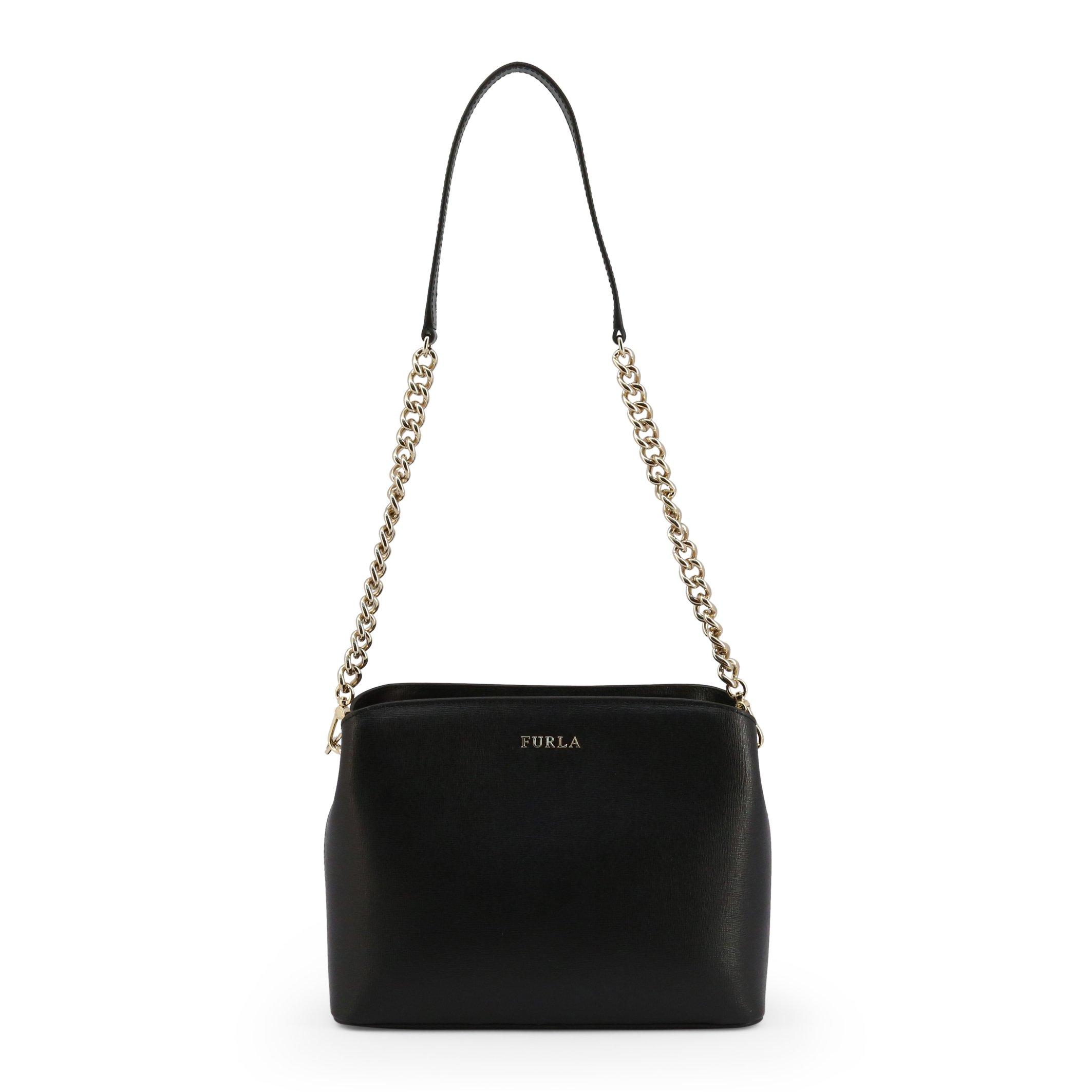 Furla Women's Shoulder Bag Various Colours TESSA_BWA9 - black NOSIZE