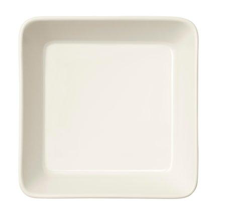 Teema Fat firkantet 12x12 cm hvit