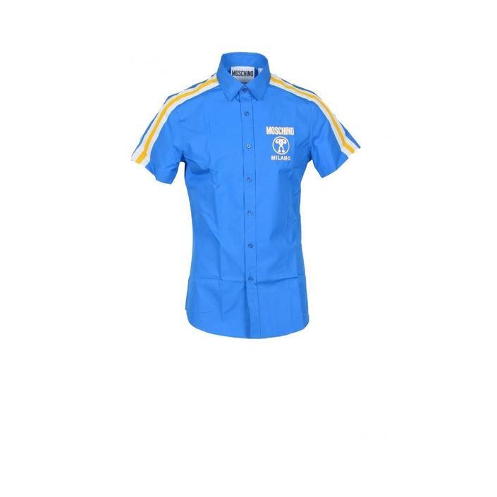 Moschino Couture - Moschino Couture Men Shirt - blue 38