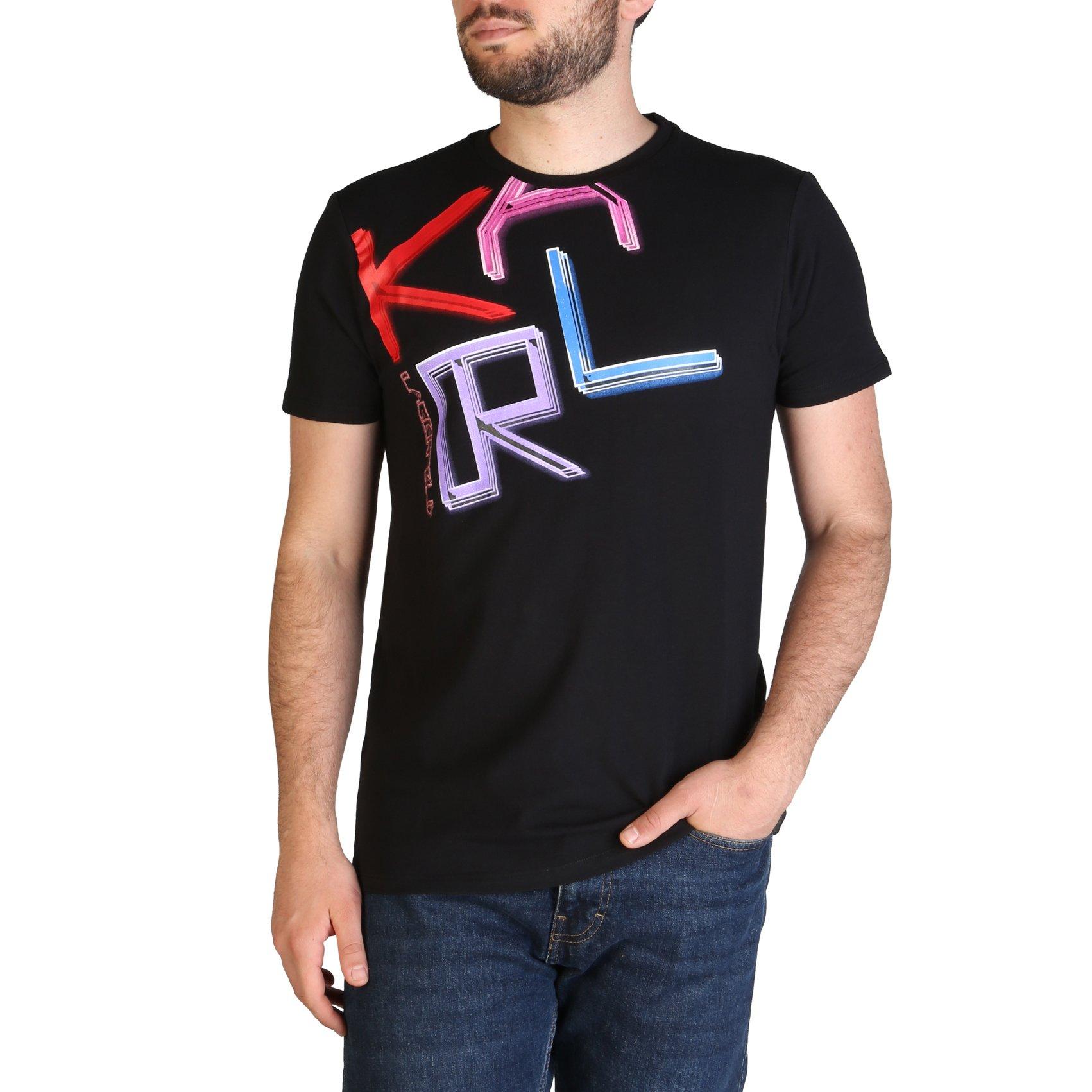 Karl Lagerfeld Men's T-Shirt Various Colours KL21MTS02 - black L
