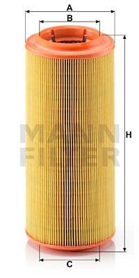 Ilmansuodatin MANN-FILTER C 12 107