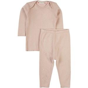 Bonpoint Timi T-shirt Och Leggings-set Dammig rosa 2 år